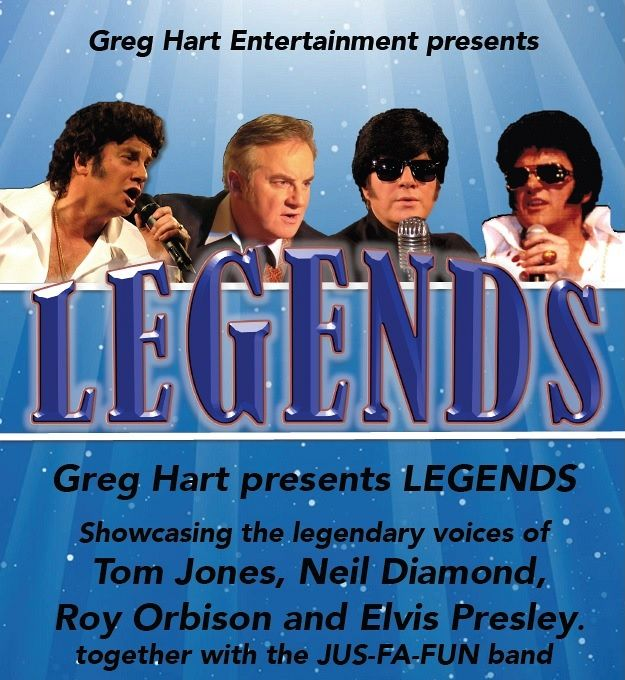 Legends presented by Greg Hart