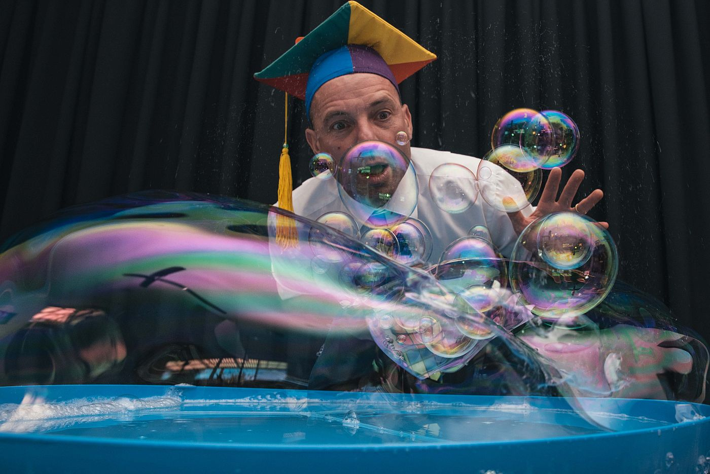 The Scientific Bubble Man