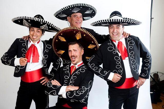 Three Amigos Roving plus One – Matinee Series