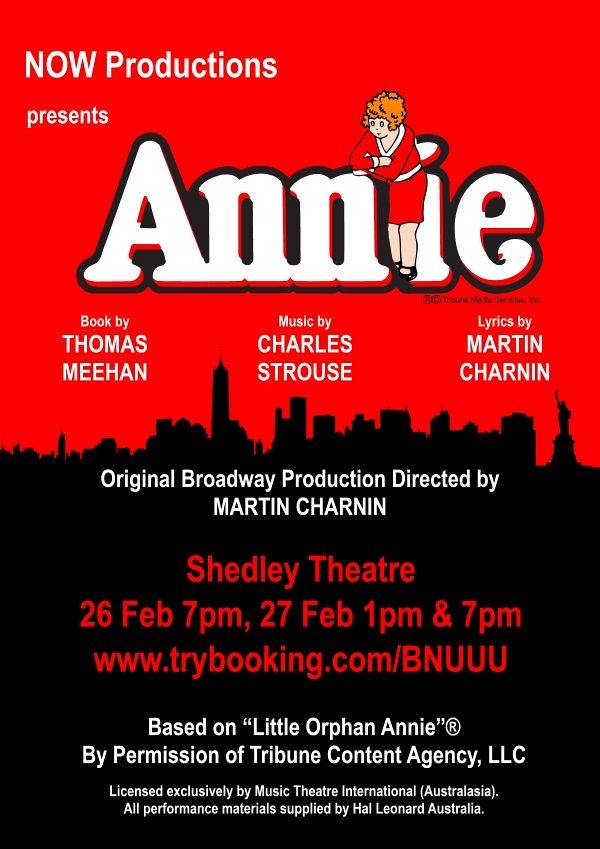 Annie – presented by Now Productions